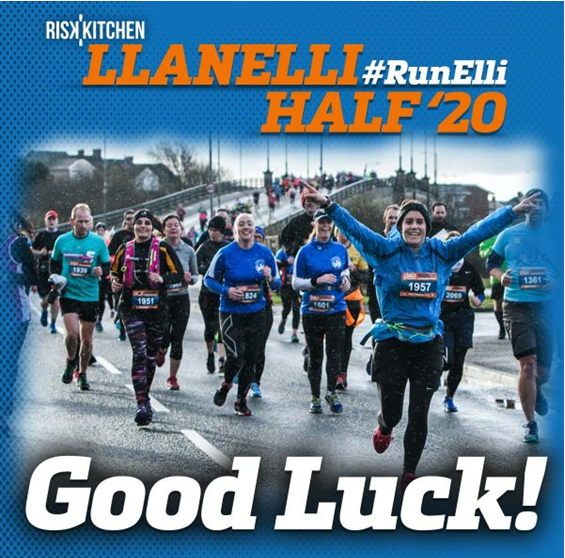 Good Luck in the 2020 Risk Kitchen Llanelli Half Marathon!!